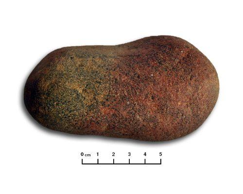 Objecto de pedra polida