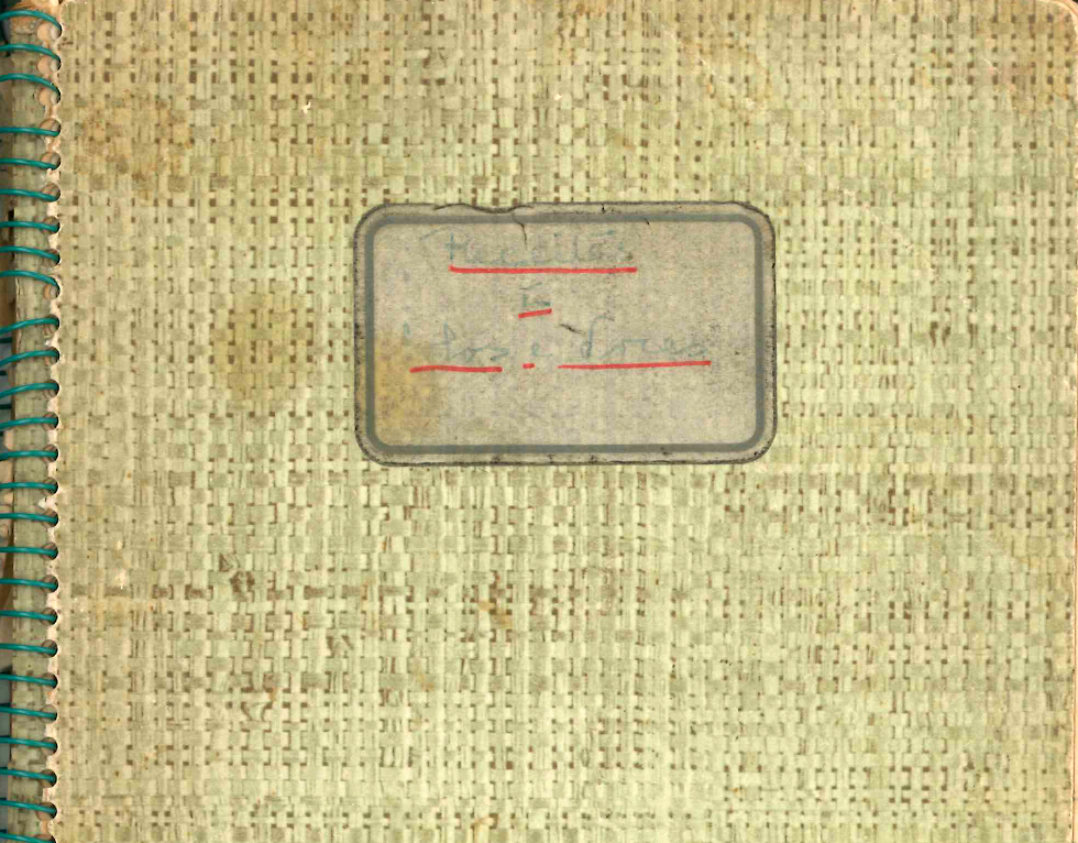 Cadernos de receitas de cozinha de Nazareth Almadanim