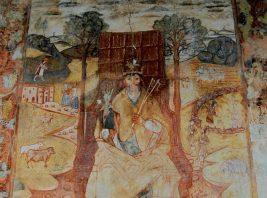 Uma representação de Salomão, o elefante do príncipe Carlos de Espanha e do arquiduque Maximiliano de Áustria, em Montemor-o-Novo?