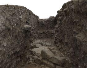 Sondagem Arqueológica na antiga Rua do Bispo