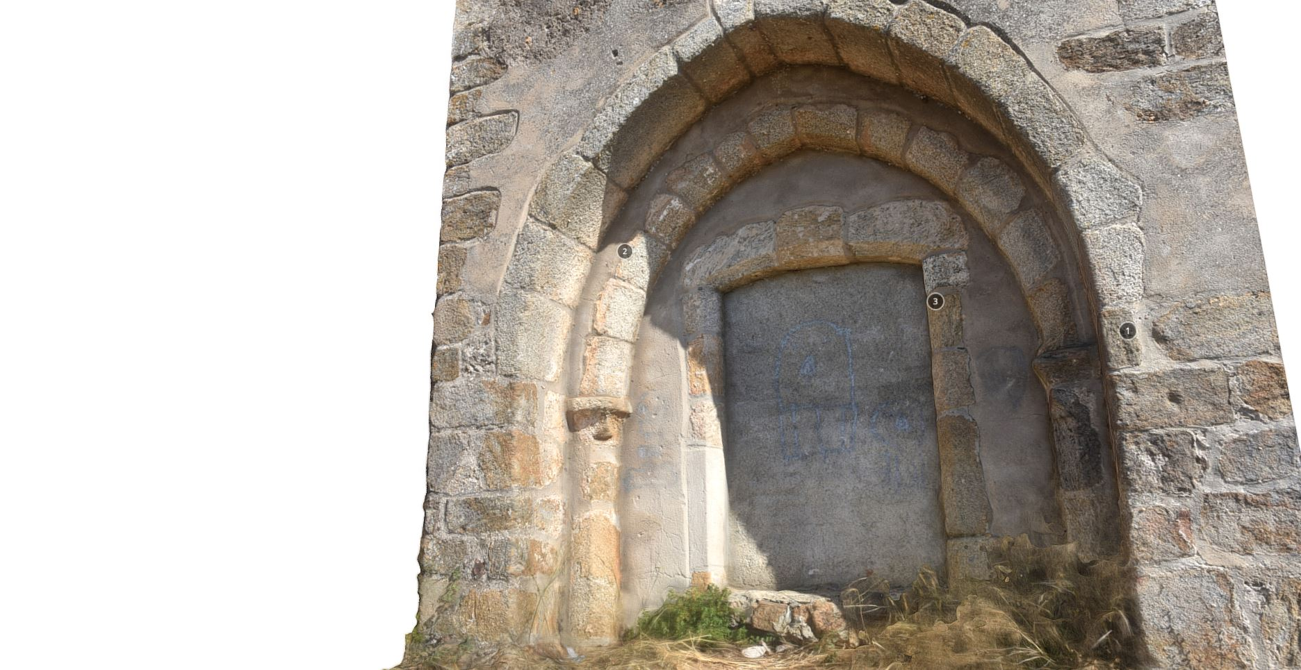 Porta Medieval da Igreja de São João Baptista