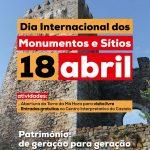 Dia Internacional dos Monumentos e Sítios em Montemor-o-Novo