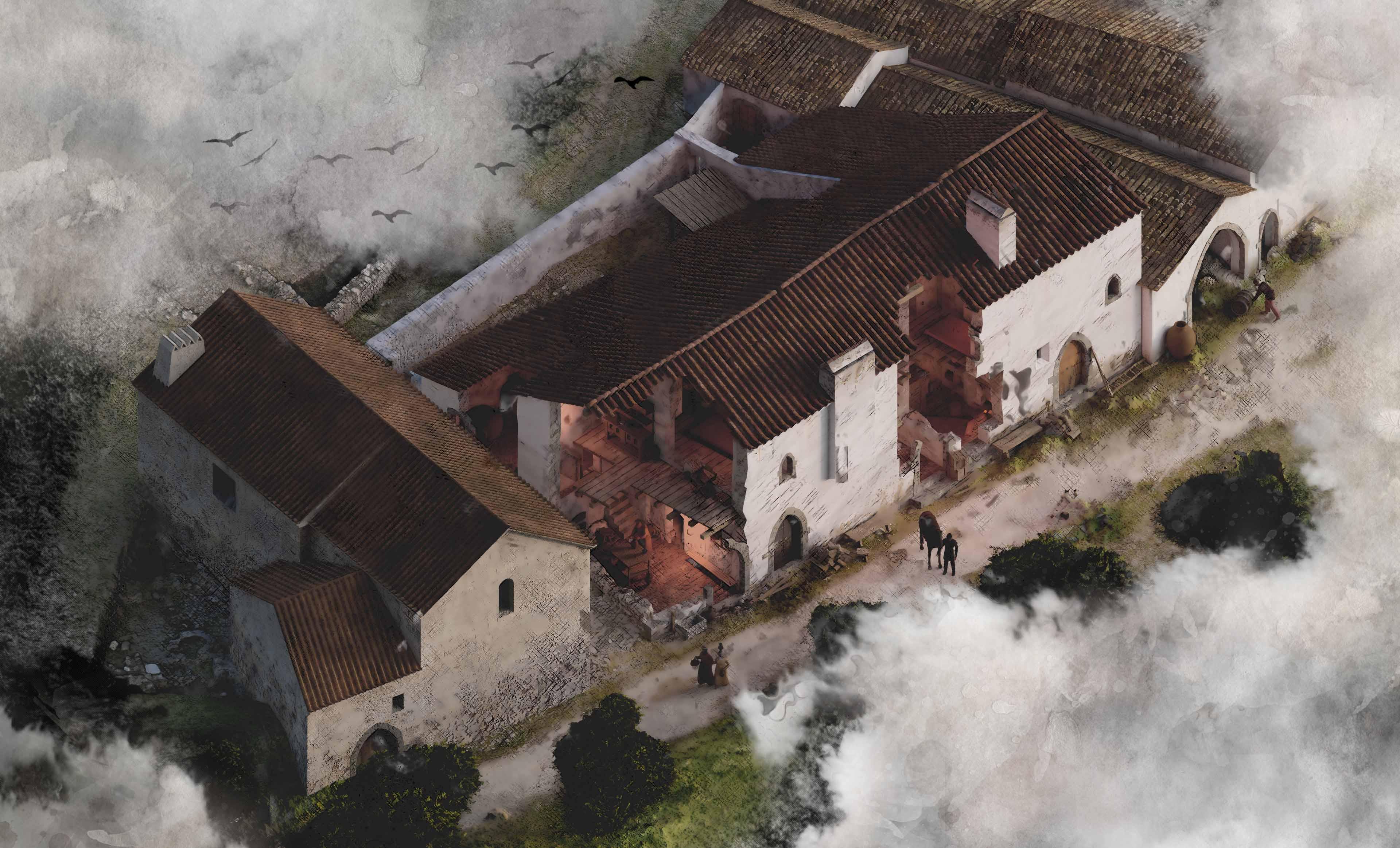 Santa Maria da Vila | Reconstrução Virtual